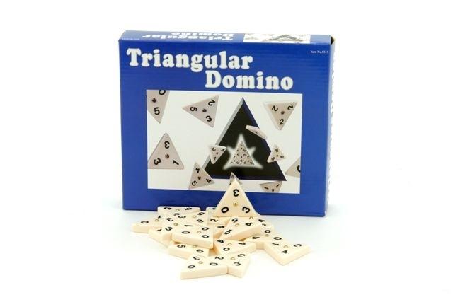 Dominoes - Triangular dominoes