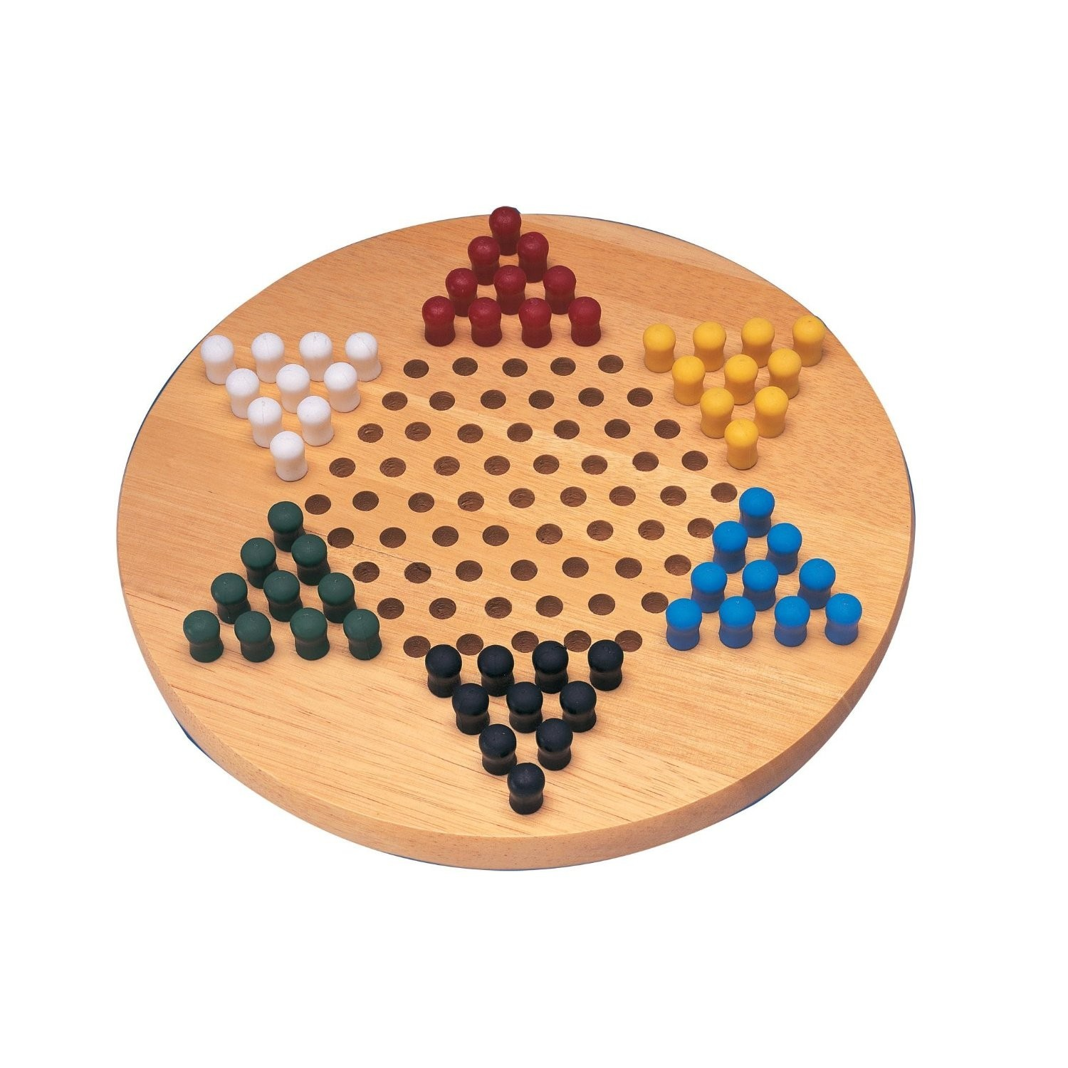 Chinese Checkers - Chinese Checkers with pegs