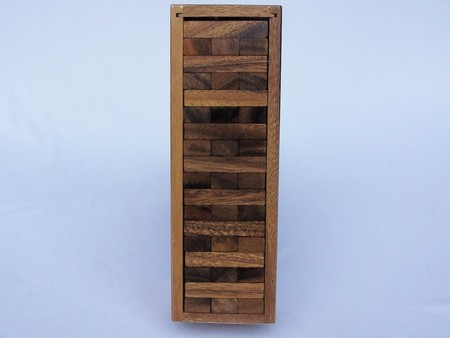 Age Olde - Jenga in a wooden Box 25cm