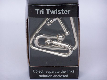 Tri Twister Chrome Puzzle