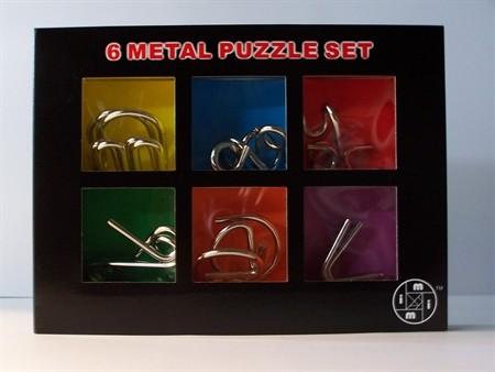Le Mi Arts Series - Chrome Puzzles Set of 6