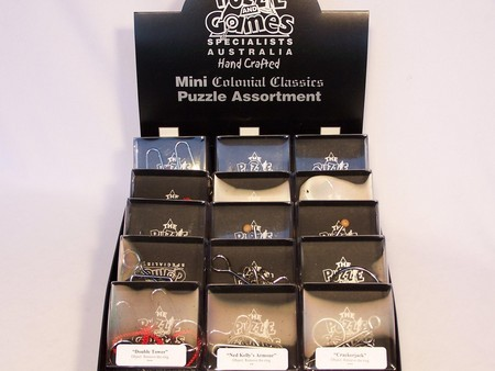 Display Box Containing 36 Mini Wire & Cast Ass.