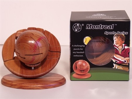 Montreal 3D Puzzles - Baseball Puzzle