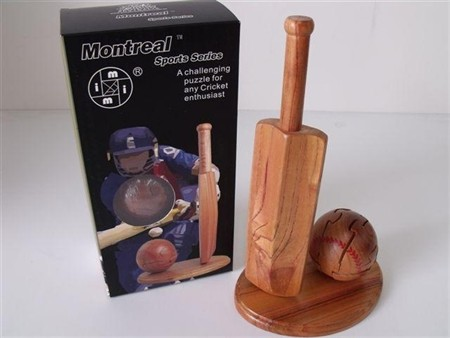 Montreal 3D Puzzles - Cricket Bat and Ball