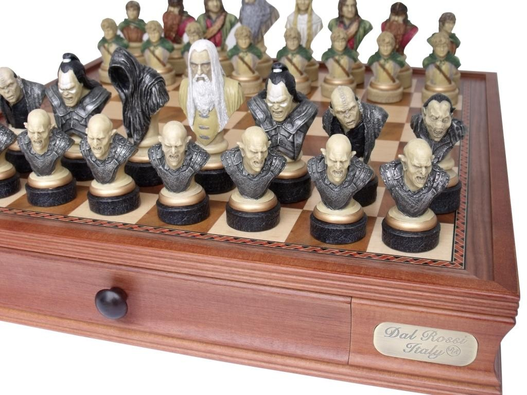 Dal Rossi Italy Lord Of The Rings Chess Pieces Pieces