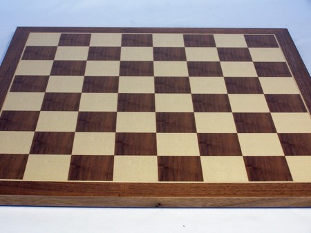 Chess board, economy, walnut, 40cm