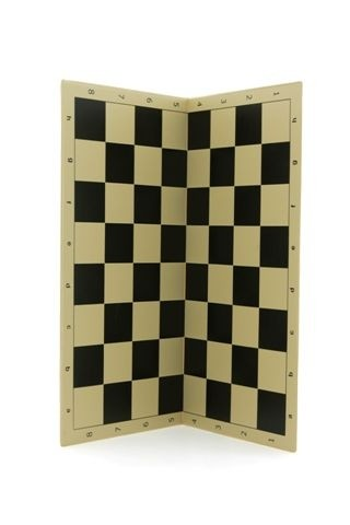 Chess board, tournament folding, PVC 50cm Chess Boards PVC