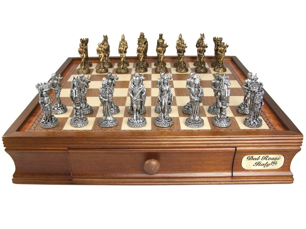 28 medieval chess sets chess set medieval times fortress chess set chess sets at - Medieval times chess set ...