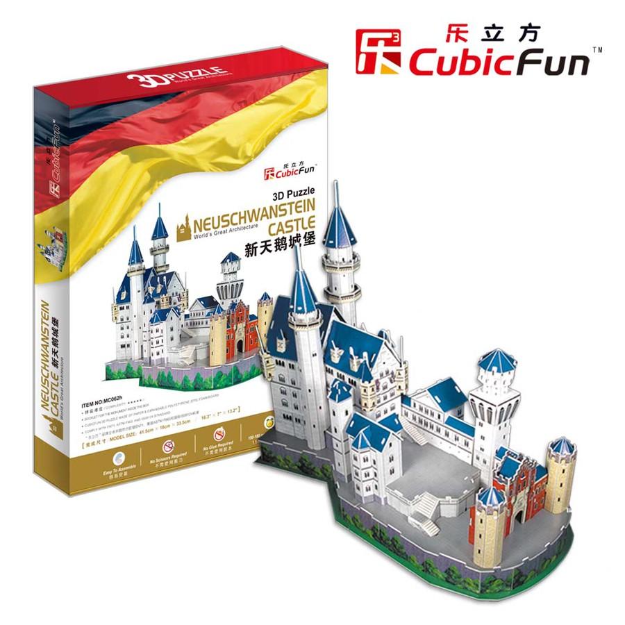 "Cubic Fun - 3D Puzzle: ""Neuschwanstein Castle"" | Puzzles ... Funny Games Mahjong"