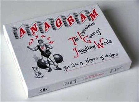 ANAGRAM The Ingenious Game of Juggling Words