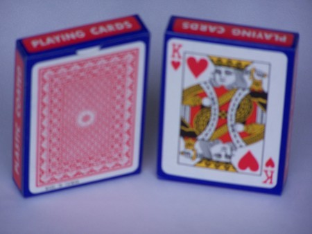 Playing Cards - plastic coated, single pack only
