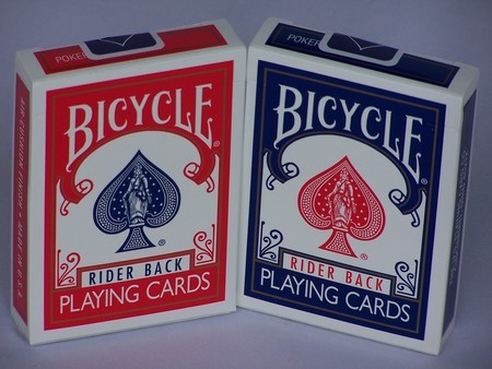 Playing Cards - Bicycle Riderback poker, single pack only