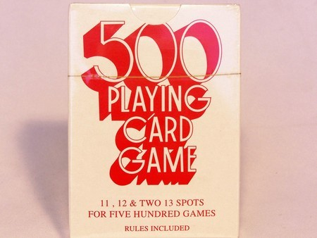 Playing Cards - 500)s, Single Pack