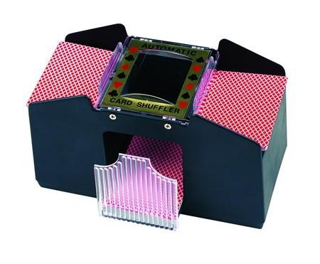 Card Shufflers & Dealer Shoe - Card shuffler, battery operated 2 Deck