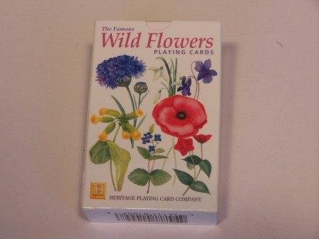 Heritage Playing Cards - Wild flowers of Britain
