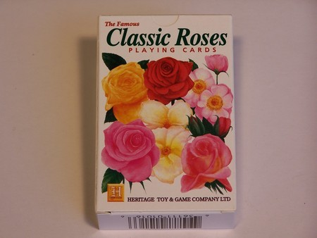 Heritage Playing Cards - Roses