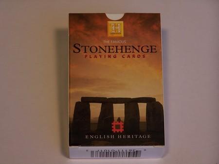 Heritage Playing Cards - Stonehenge