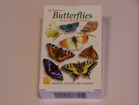 Heritage Playing Cards - Butterflies, European species