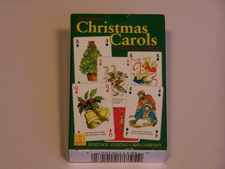 Heritage Playing Cards - ChristmasCarols