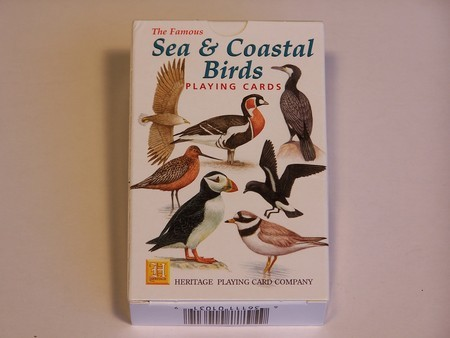 Heritage Playing Cards - Sea & Coastal Birds
