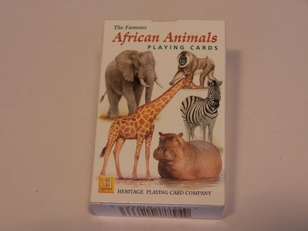 Heritage Playing Cards - African Animals