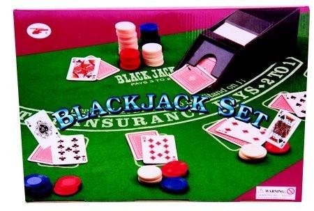 Roulette Set - Blackjack set, deluxe, boxed