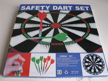 Miscellaneous Games - Dart Set 45cm with Soft Tip Safety Heads