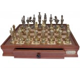 "Dal Rossi Italy, ""Renaissance"" Chess Set on Dal Rossi 50cm (20"") Chess Box"