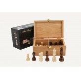 Dal Rossi Italy Chess 85mm Pieces Plus Storage Box