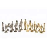 "Dal Rossi Italy, ""Renaissance"" Chess Pieces (PIECES ONLY)"