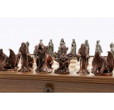 Dal Rossi L Ring Metal Chessmen ONLY