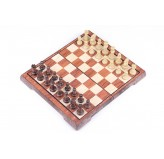 Magnetic Games - Brown Magnetic Chess 11.5""