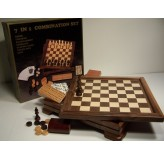 7 in 1 Games, walnut 33cm