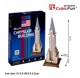 "Cubic Fun - 3D Puzzle: ""Chrysler Building"""