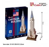 """Cubic Fun - 3D Puzzle: """"Chrysler Building"""""""