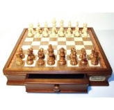 """Dal Rossi 20"""" Chess BOX ONLY With Two Drawers Piece not included"""
