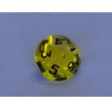 Dice - 10 Side Dice Transparent