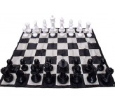 Giant Nylon Fabric Chess Board 210cm BOARD ONLY To suit 40cm Chess pieces