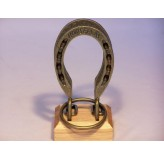 Colonial Classics MetalWood Base - Horseshoes , wood base