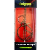 Enigma Metal Puzzles - Convicts Escape on a Metal Stand