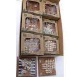 "Bamboo Puzzles ""ECO Series"" - ""Pocket Games"" Display of 12 Assorted"