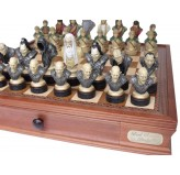 "Dal Rossi Italy, ""Lord of the Rings"" Chess Pieces (pieces only)"