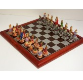 Hand Painted Theme Polyresin Chess - Zodiac (StarSigns) Chess pieces 75mm pieces, Board Not Include
