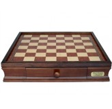 "Dal Rossi Italy, Chess Box with drawers 16"" YOU CAN ADD ANY PIECES TO MAKE THIS INTO A CHESS SET"