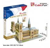 """Cubic Fun - 3D Puzzle: """"Notre Dame de Paris"""""""