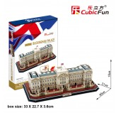 "Cubic Fun - 3D Puzzle: ""Buckingham Palace""  (72pc)"