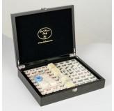 Dal Rossi Italy, Mahjong 29cm - in Carbon Fibre Finish Case