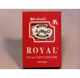 Playing Cards - Royal 100%plastic, large index, Single Pack