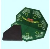 World Poker table - top Hexagonal folding 47""