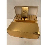 Dal Rossi Italy Luxury 24k 99.9% Genuine Gold Plated Playing cards DISPLAY of 10.